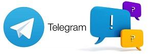 Задать вопрос о товаре в Telegram