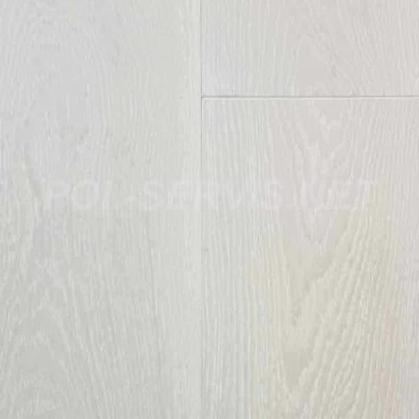 Паркетная доска Europarkett Дуб 1-полосный Latte 2,63 (МАСЛО OSMO,браш)  - Скидка